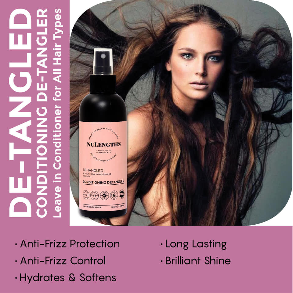 NuLengths De-Tangled Leave in Conditioner