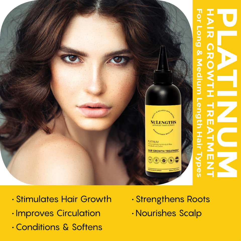 NuLengths Platinum Hair Growth Treatment 200 ml