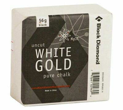 Black Diamond White Gold 56g Block