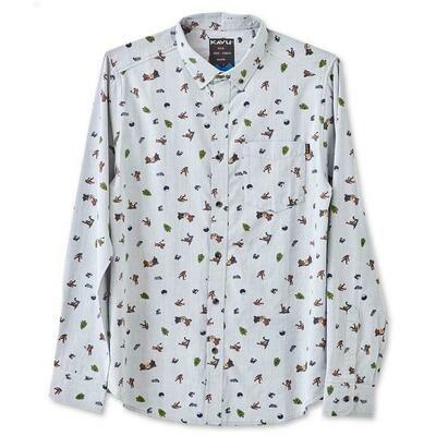 Kavu Linden Sasquatch Long Sleeve Shirt