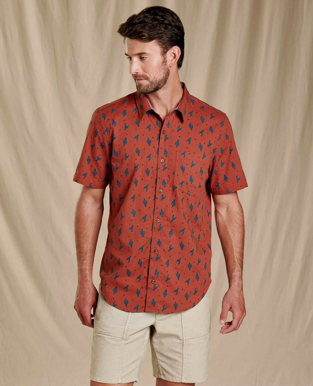 Toad&Co Fletch Print Short Sleeve Shirt