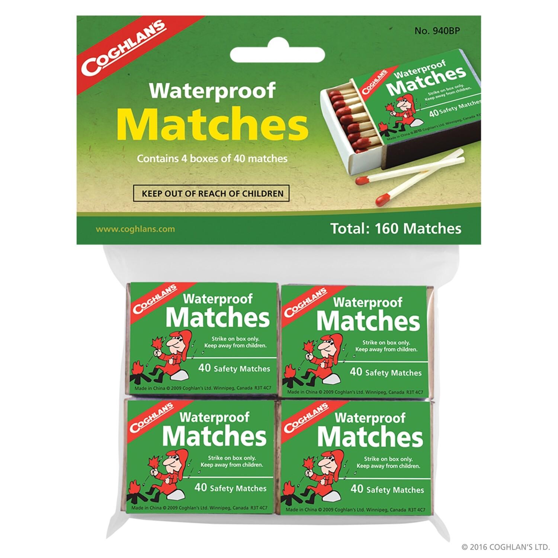 Coghlan's Waterproof Matches - 160 piece