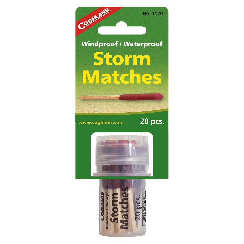 Coghlan's Windproof/Waterproof Storm Matches - 20 piece