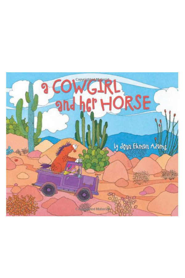 A Cowgirl and Her Horse