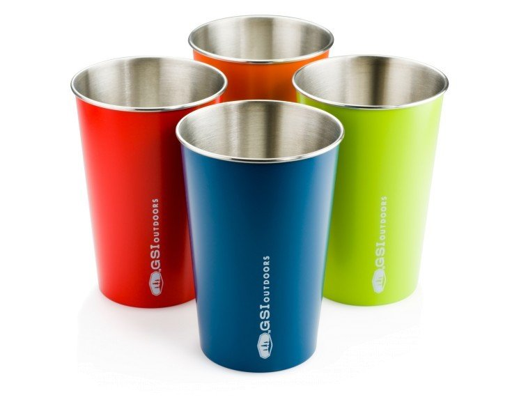 GSI Glacier Stainless Pint Set