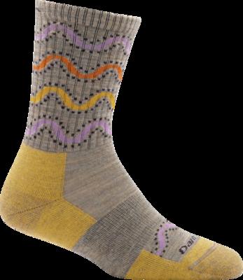 Darn Tough Wandering Stripe Micro-Crew Light Cushion Women's Hiking Sock