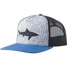 prAna Journeyman Trucker Hat Shark Bait