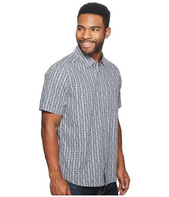 Toad&Co Fletch Print Short Sleeve Shirt