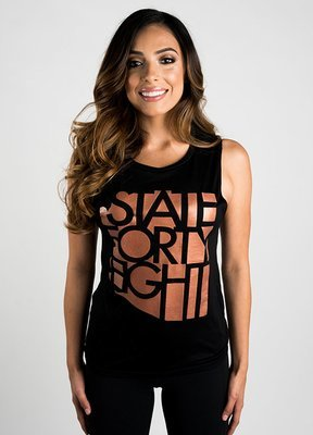 State Forty-Eight Copper Women's Flowy Tank