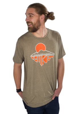 State Forty-Eight Hike Crew Neck Tee
