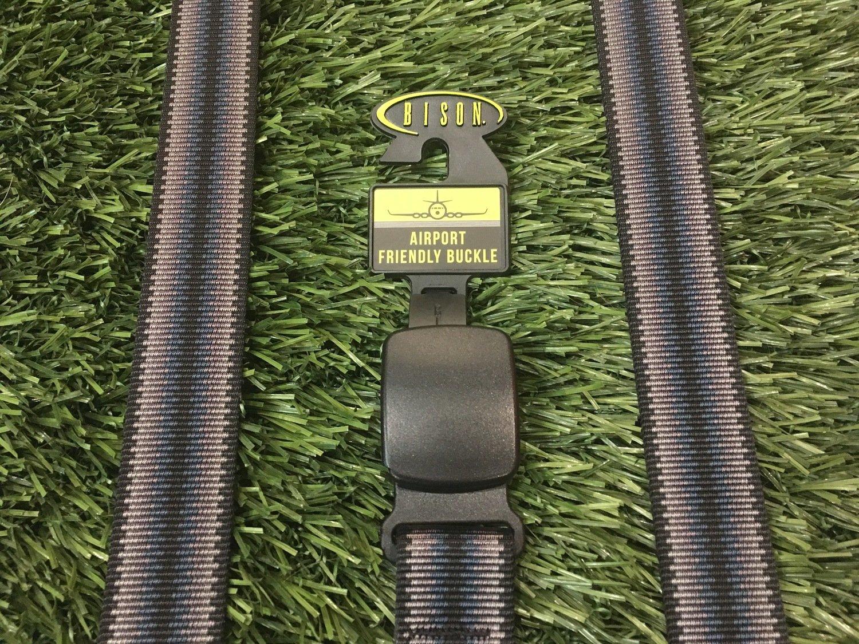 Bison Designs Airport Friendly Cam Lock Belt