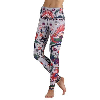 Yoga Democracy Desert Warrior Yoga Leggings