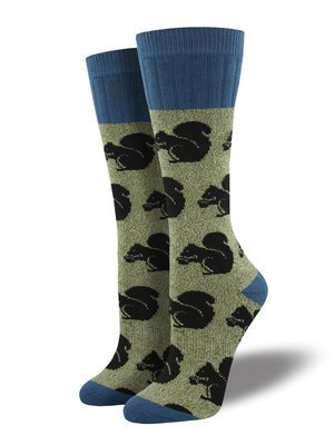 Sock Smith Outlands Squirrel Women's Socks