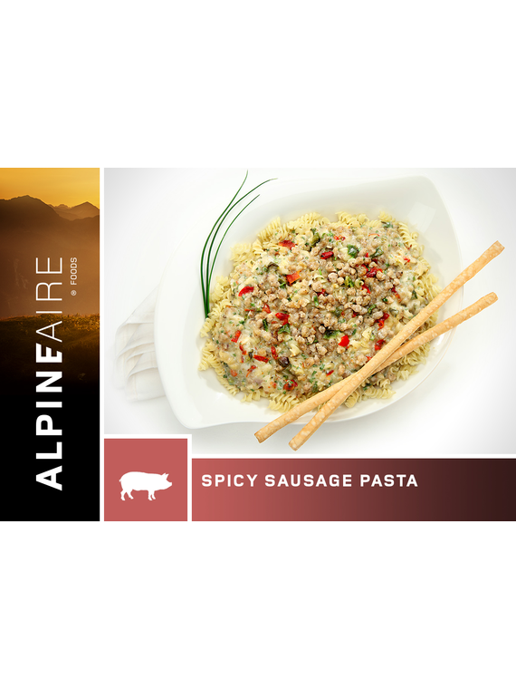 Alpineaire Foods Spicy Sausage Pasta