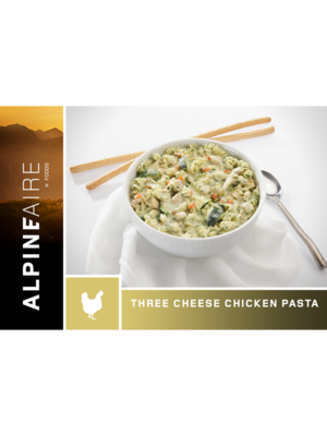 Alpineaire Foods Three Cheese Chicken Pasta