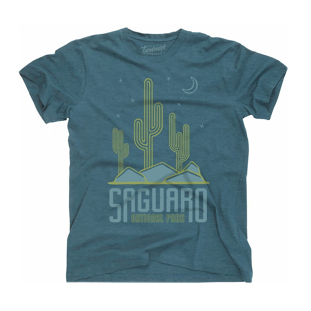 Landmark Project Saguaro National Park Unisex Tee