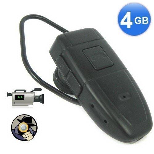 4GB Bluetooth Style Spy Camera DVR Covert Video Recorder 1.3 Megapixels 640*480