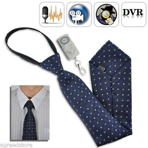 4GB Fashionable Tie with Hidden Camera Video Recording with Remote Control 30fps