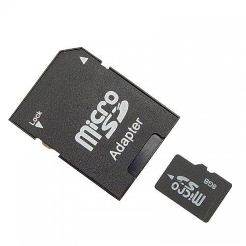 8GB Micro memory card with adaptor