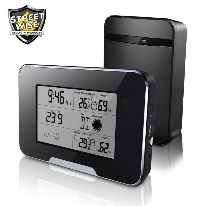 HD 1080P Weather Station Camera Wi-Fi Version