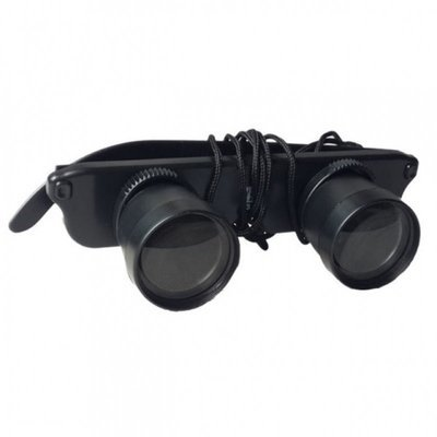 3X28mm HD Head-Mounted Binocular Telescope Optic Glasses Goggles Magnifier