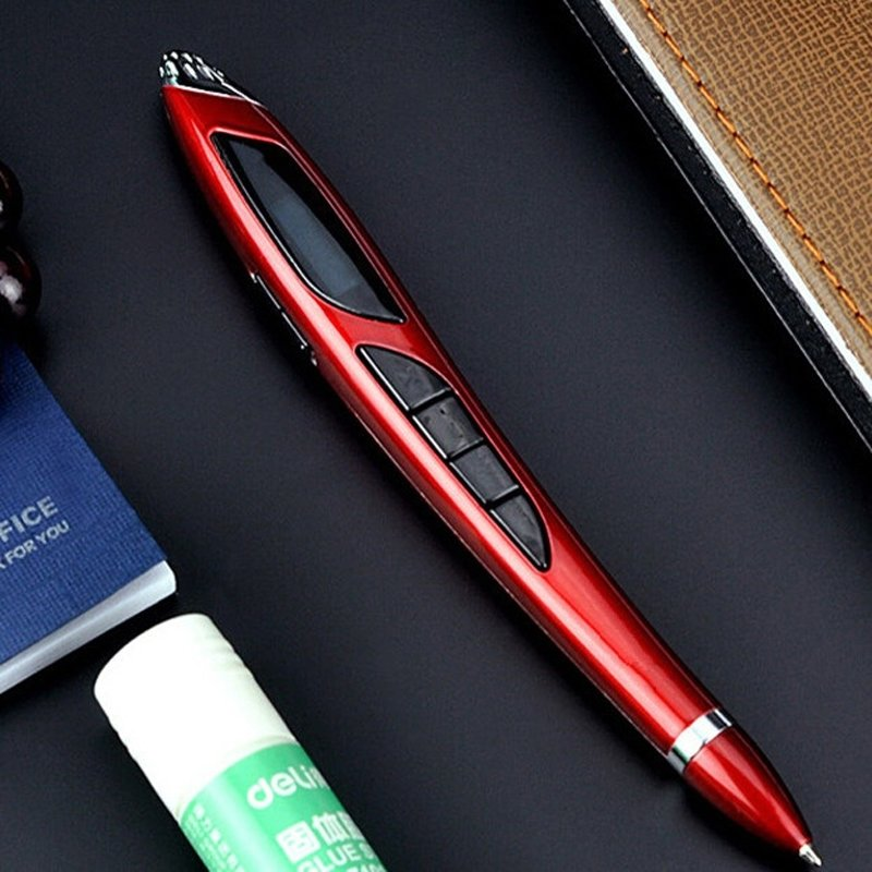 4-in-1 Multifunction 8GB Digital Business X5 Voice Recorder MP3 Player U Disk Voice Recording Pen Red
