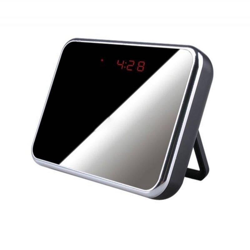 5MP Mini HD Cam Alarm Clock Video Camera DV Digital Recorder with Motion Detection