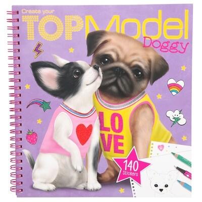 TOPModel Альбом для раскрашивания Собачки