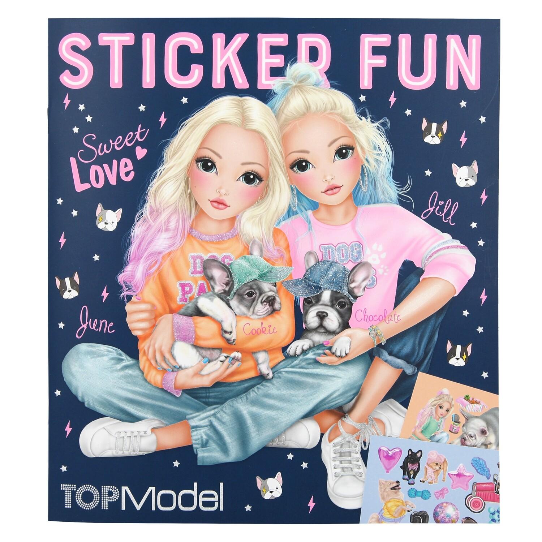 TOPModel Альбом с наклейками DOG