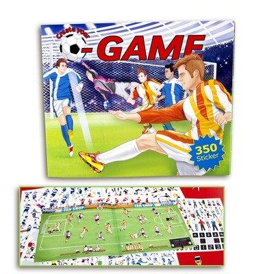 Creative Studio Альбом с наклейками Создай Футбольный матч