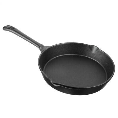 Сковорода чугунная 20 см 808-002
