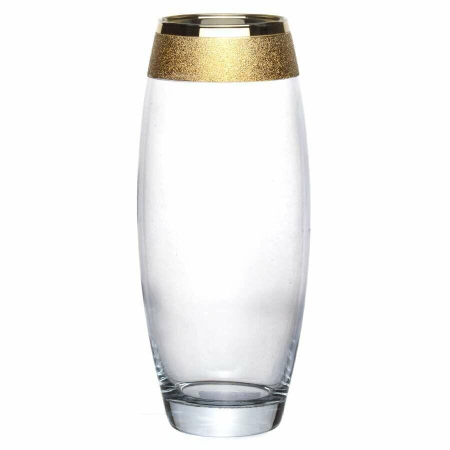 Ваза Флора Н=260 мм Золотой карат 22-3267