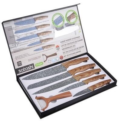 Алмаз Набор ножей кухонных 6пр. в магнит 803-087