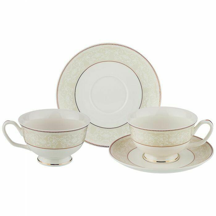 Чайный набор на 2 перс 4пр 240мл 389-481