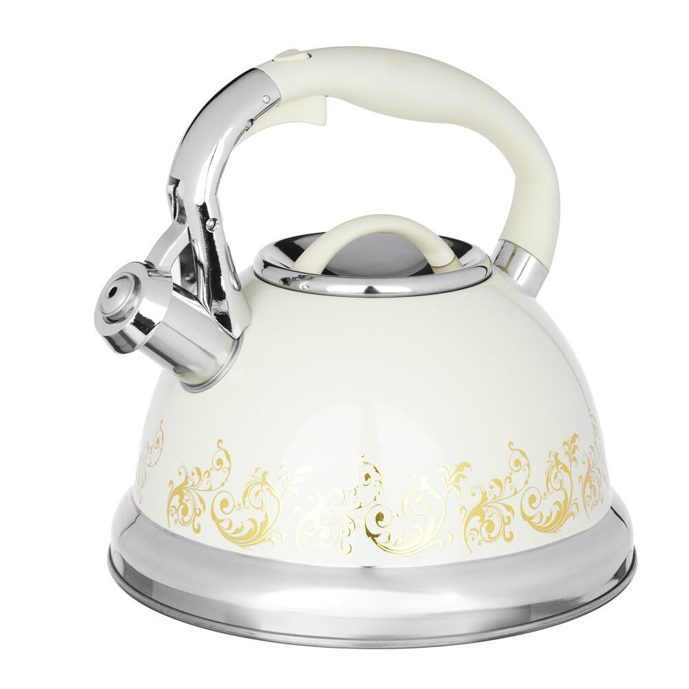 Чайник стальной 3 л Золотая вязь Vetta 847-054