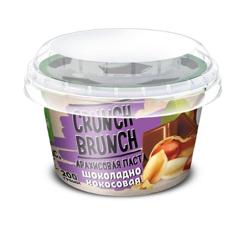 Crunch Brunch Арахисовая паста шоколадно-кокосовая