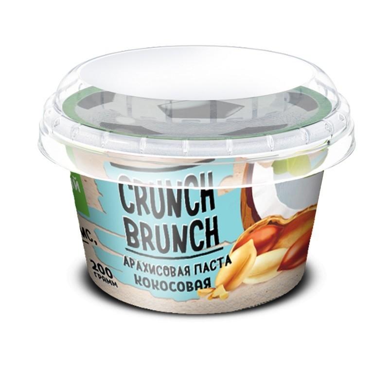 Crunch Brunch Арахисовая паста с кокосом