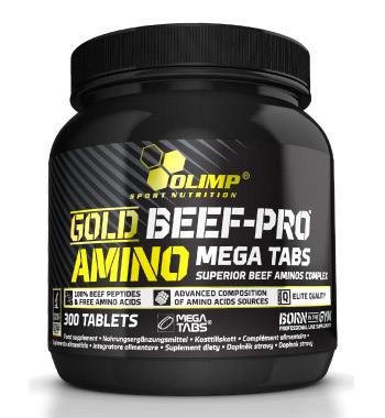 Gold Beef Pro Amino Mega Tabs Olimp
