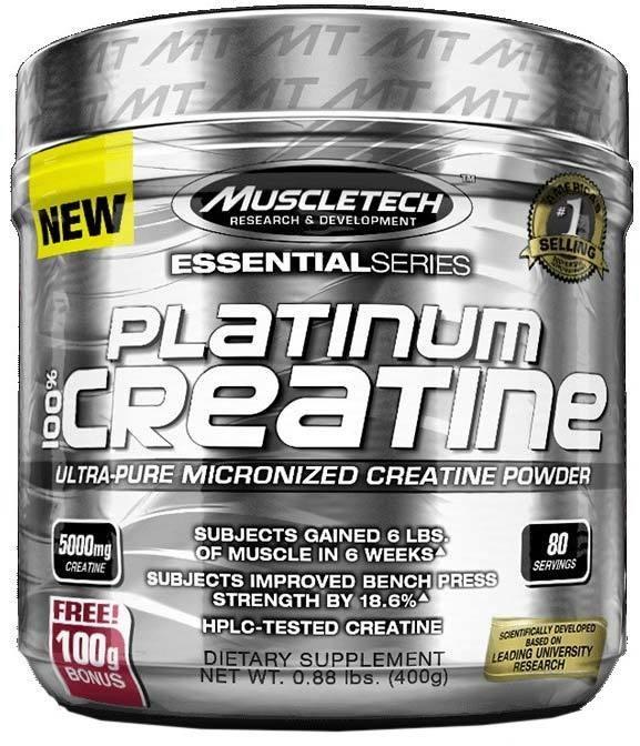 Platinum 100% Creatine MuscleTech
