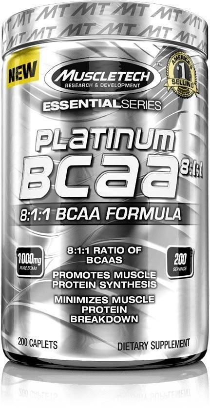 Platinum 100% BCAA 8:1:1 MuscleTech