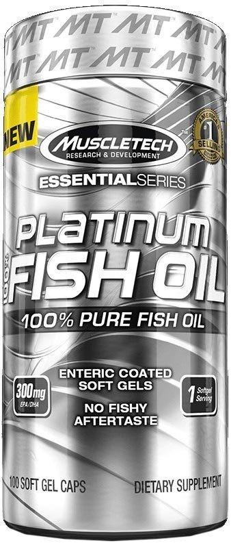 Platinum 100% Fish Oil MuscleTech