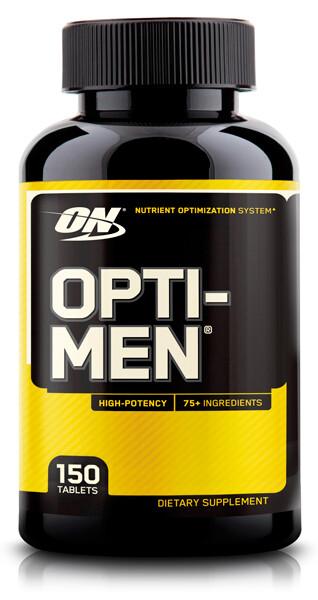 Opti-Men Optimum Nutrition 150 таб