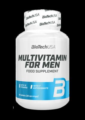 Multivitamin for Men Biotech USA