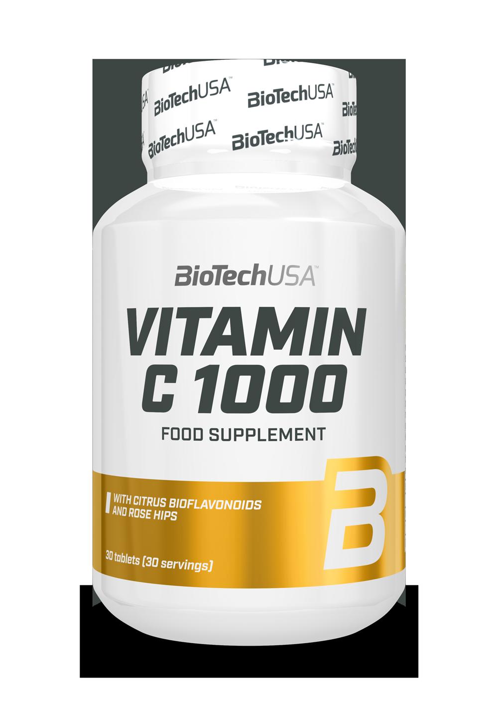Vitamin С 1000 BioTech USA