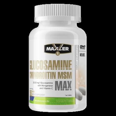 Glucosamine-Chondroitin-MSM MAX Maxler
