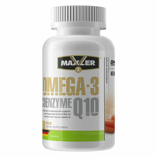 Omega-3 Coenzyme Q10 Maxler