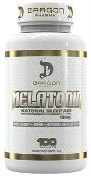 Melatonin 10mg  Dragon Pharma Labs