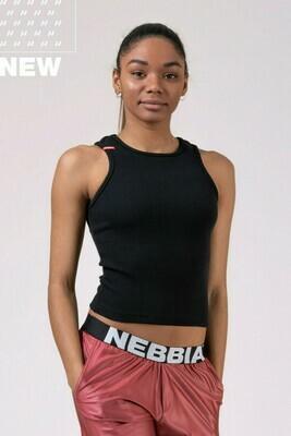 Укороченный топ Sports NEBBIA Labels crop top 516