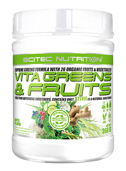 Vita Greens & Fruit Stevia Scitec Nutrition