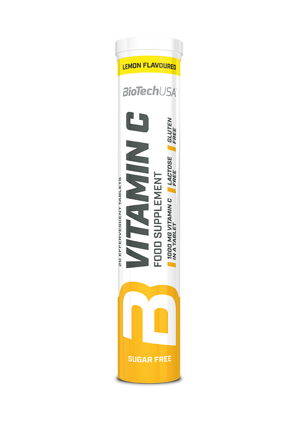 Vitamin C Effervescent BioTech USA